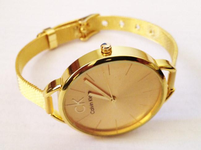 ساعت CK طلایی