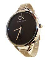 خرید ساعت CK بند حصیری نقره ای